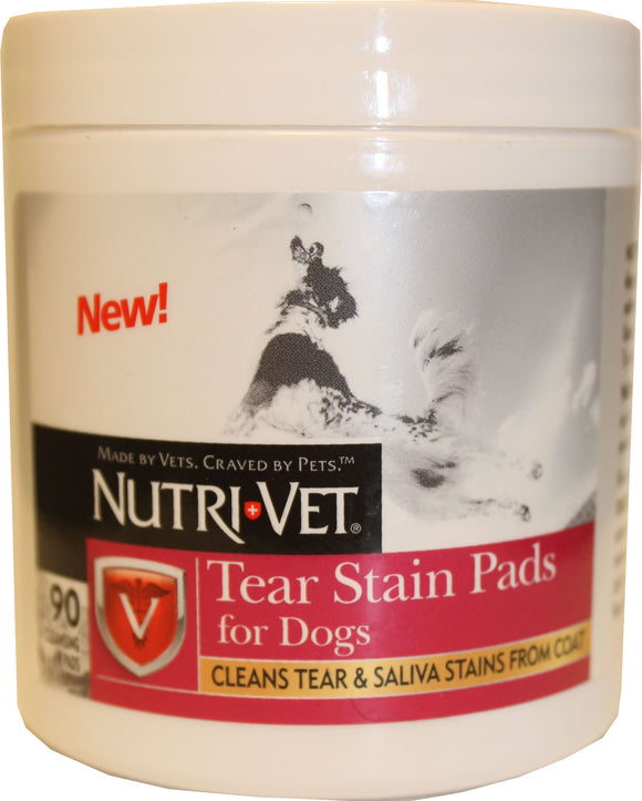 Nutri-vet Wellness Llc D-Nutri-vet Tear Stain Pads For Dogs