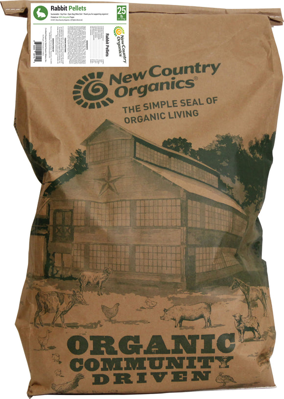 New Country Organics - Rabbit Pellets