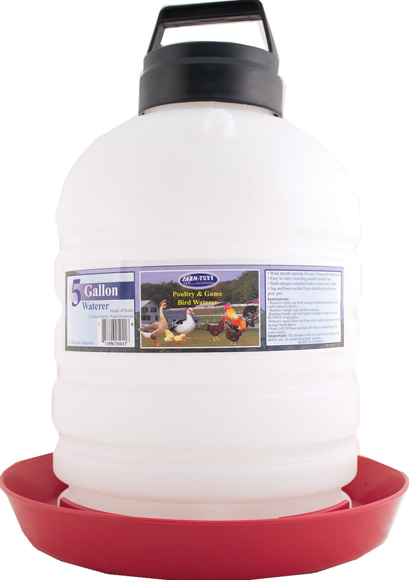 Millside Industries - Top-fill Poultry Fountain