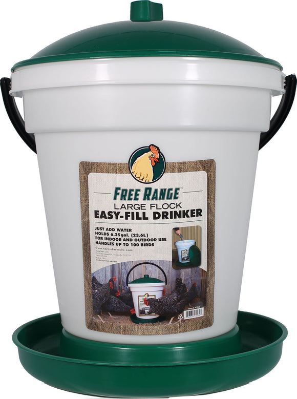 Harris Farms Llc. - Free Range Ez Fill Plastic Poultry Waterer