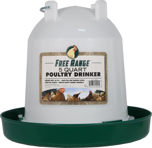 Harris Farms Llc. - Free Range Plastic Poultry Waterer