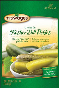Precision Foods Inc - Mrs. Wages Quick Process Kosher Dill Pickle Mix