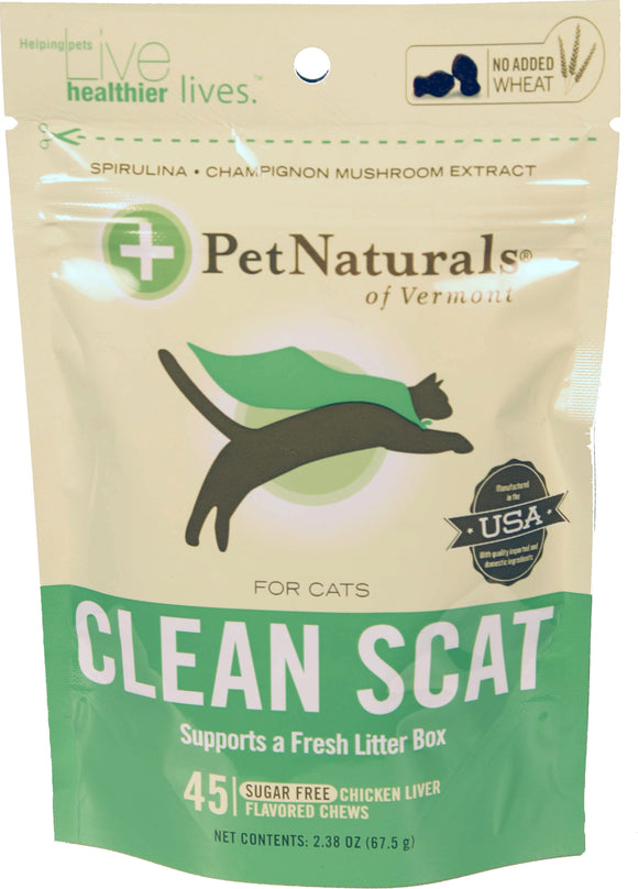 Pet Naturals Of Vermont - Clean Scat Chews