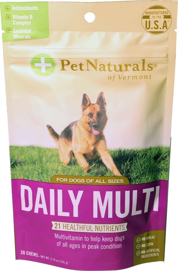 Pet Naturals Of Vermont - Daily Multi Chews For Dogs