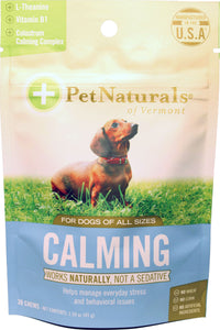 Pet Naturals Of Vermont - Calming Chew For Dogs