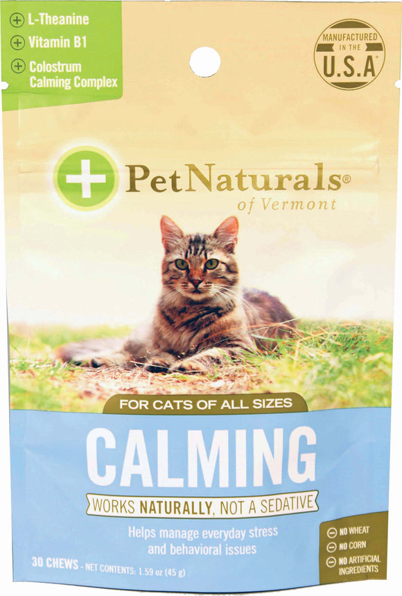 Pet Naturals Of Vermont - Calming Chew For Cats