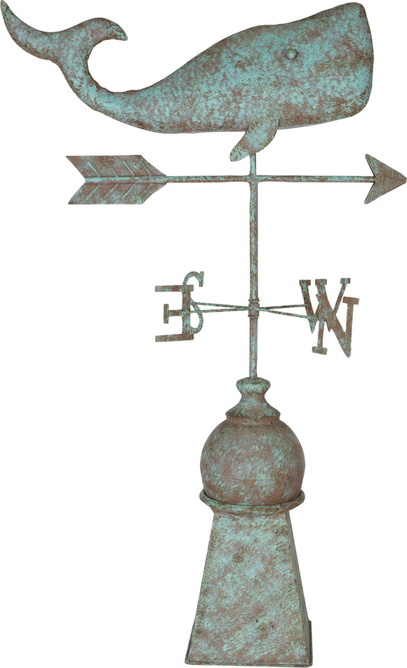Southern Patio - Whale Weathervane