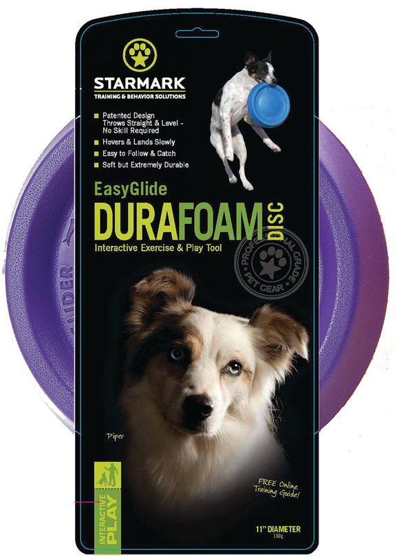 Starmark Pet Products - Easyglide Durafoam Disc Dog Toy
