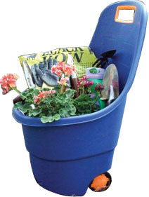 Animal Supplies Internat - Bucket W/wheels All-in-one 40l