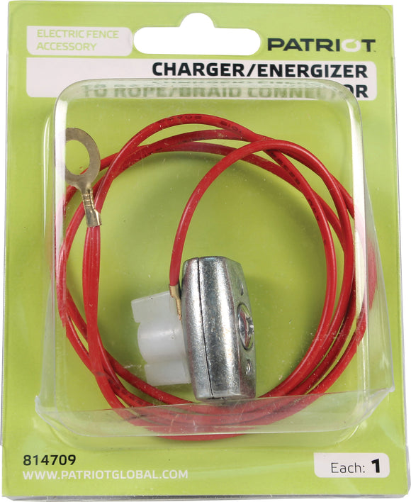 Tru-test Inc. - Patriot Charger To Rope/braid Connector