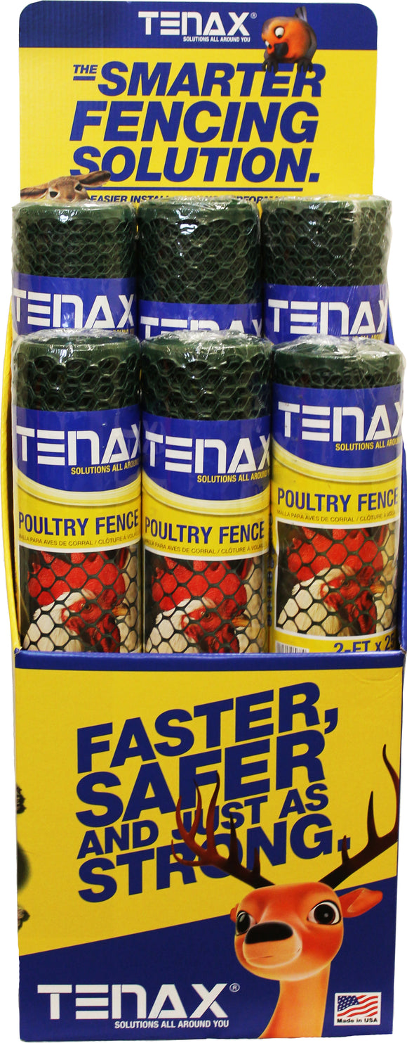 Tenax Corporation-Poultry Fence Try Me Box Display