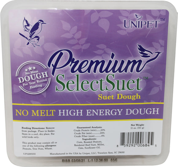 Unipet Llc - Premium Select High Energy Dough (Case of 12 )