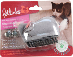 Worldwise Inc - Petlinks Roaming Runner Electronic Mouse Cat Toy