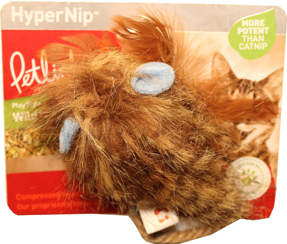 Worldwise Inc - Wild Wooly Long Tailed Mouse With Hypernip Cat Toy