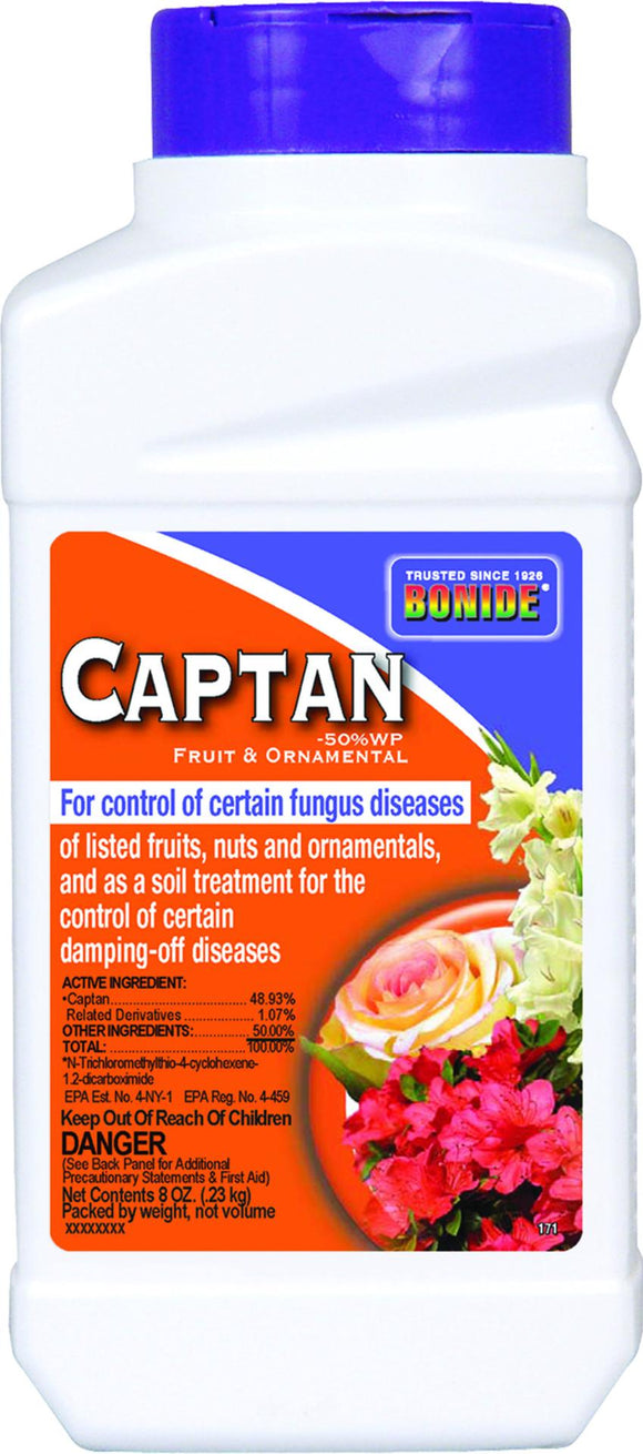 Bonide Products Inc     P - Captan Fruit Ornamental Fungicide Concentrate