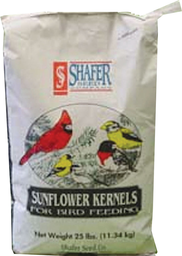 Shafer Seed Company - Sunflower Hearts Coarse