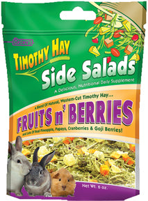 F.m. Browns Inc - Pet - Timothy Side Salads Fruits & Berries