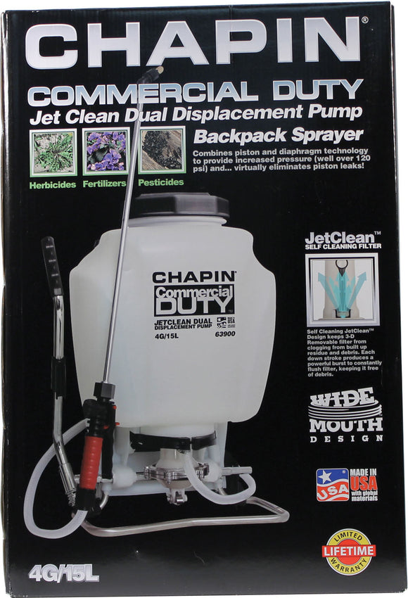 Chapin Manufacturing   P - Commercial Duty Jet Clean Backpack Sprayer