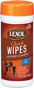 Manna Pro-packaged - Lexol Leather Cleaner Quick Wipes