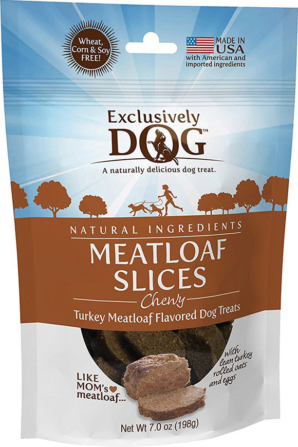Exclusively Pet Inc - Chewy Meatloaf Slices Dog Treats