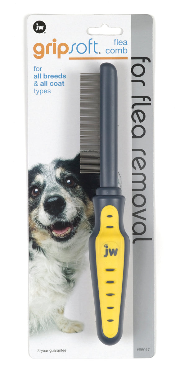 Jw - Dog/cat - Jw Gripsoft Flea Comb