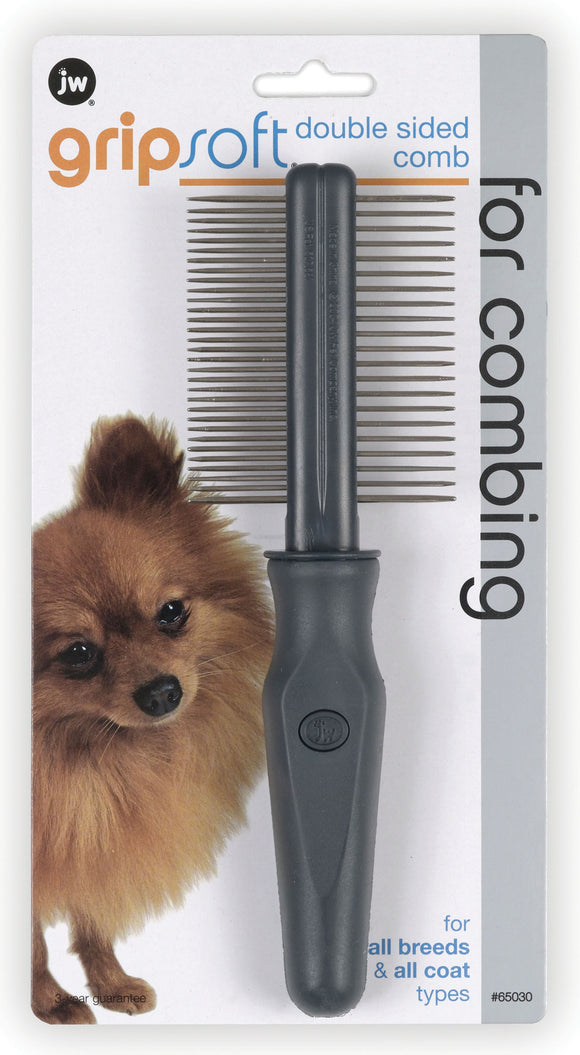 Jw - Dog/cat - Jw Gripsoft Double Sided Comb