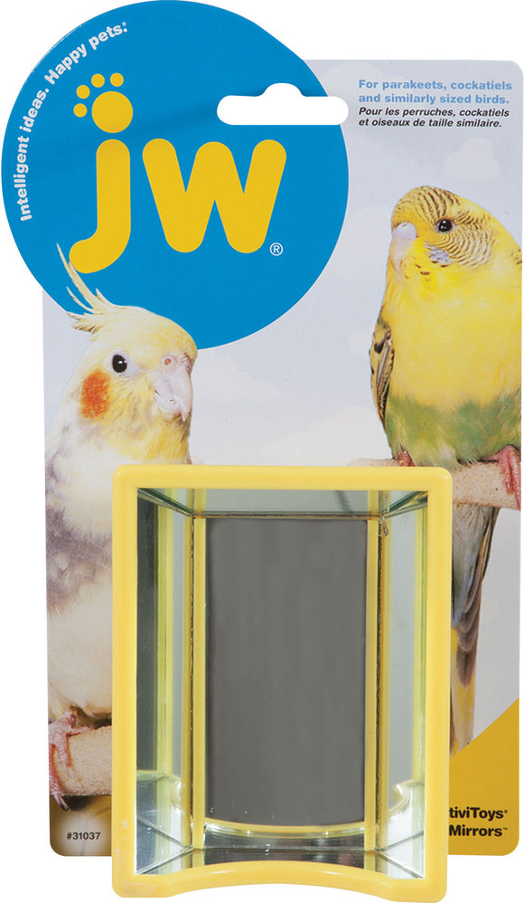 Jw-Small Animal-bird-Activitoys Hall Of Mirrors Bird Toy