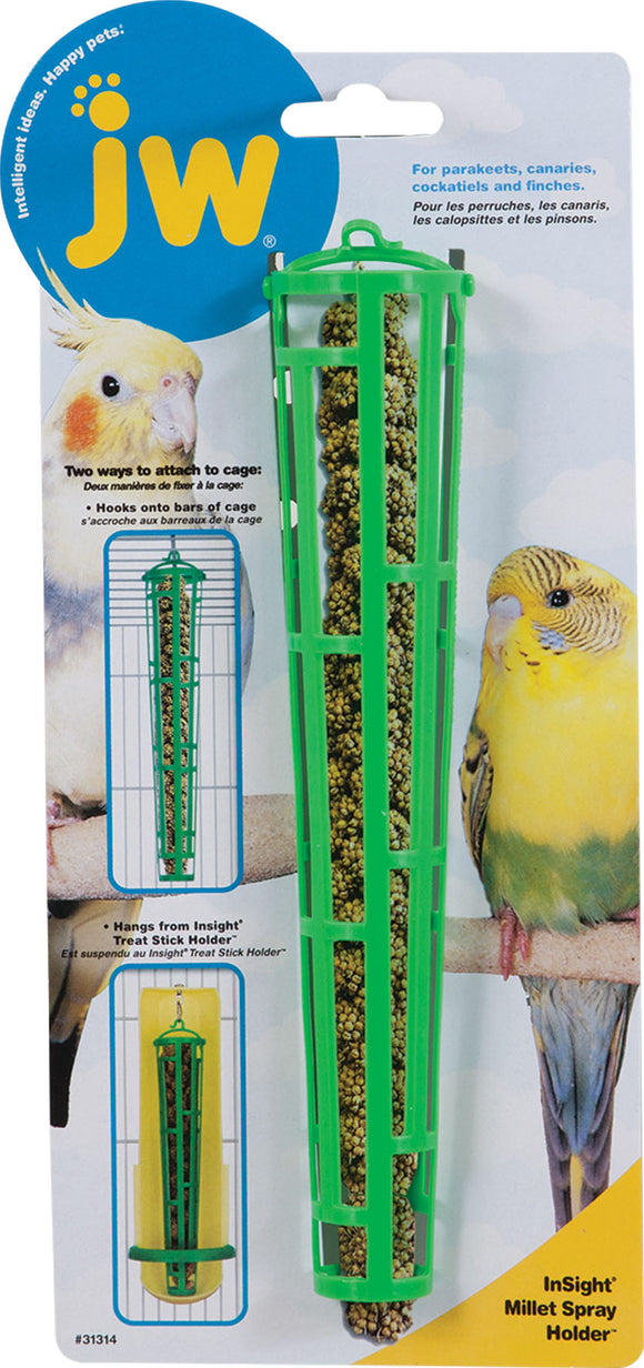 Jw-Small Animal-bird-Jw Millet Spray Holder
