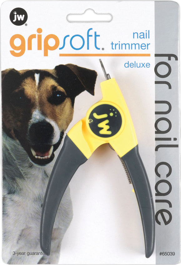 Jw - Dog/cat - Jw Gripsoft Deluxe Nail Trimmer For Dogs