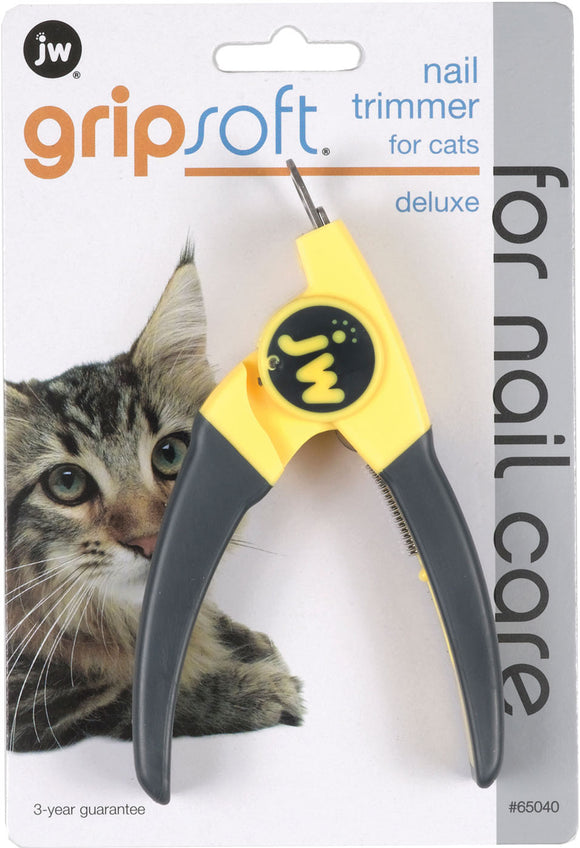 Jw - Dog/cat - Gripsoft Deluxe Nail Trimmer For Cats