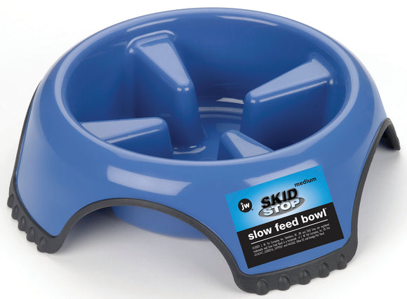 Jw - Dog/cat - Jw Skid Stop Slow Feed Bowl