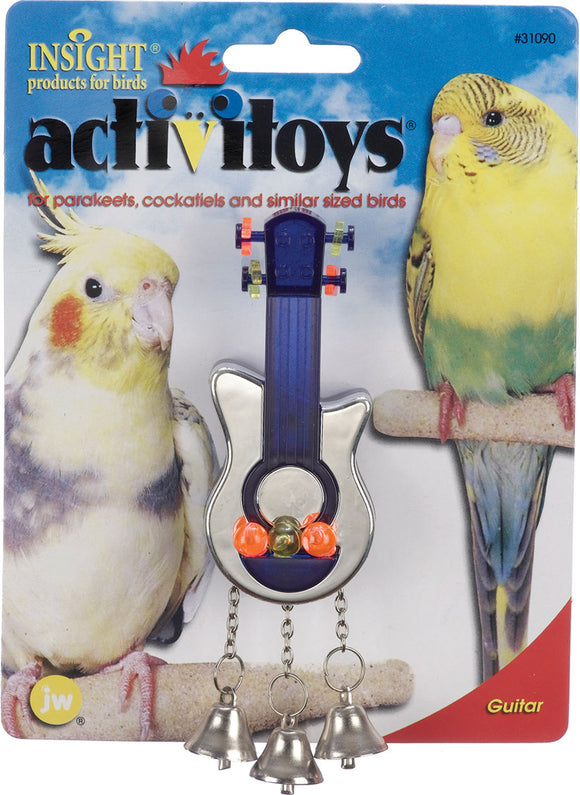 Jw - Small Animal/bird - Activitoys Guitar Bird Toy