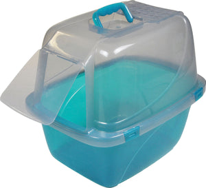 Van Ness Plastic Molding - Translucent Enclosed Cat Pan