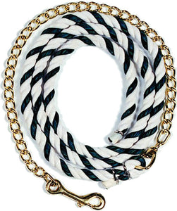 Beiler's Manufacturing - Cotton Lead Rope With Chain