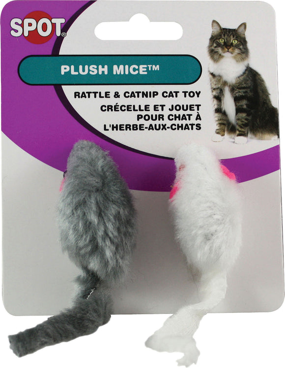Ethical Cat - Plush Mouse Twin Pack