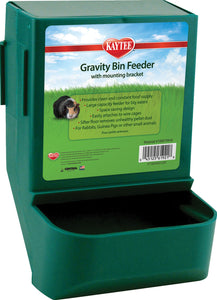 Super Pet- Container - Gravity Bin Feeder With Bracket
