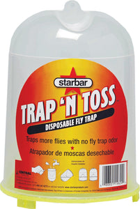 Starbar - Trap-n-toss Disposable Fly Trap