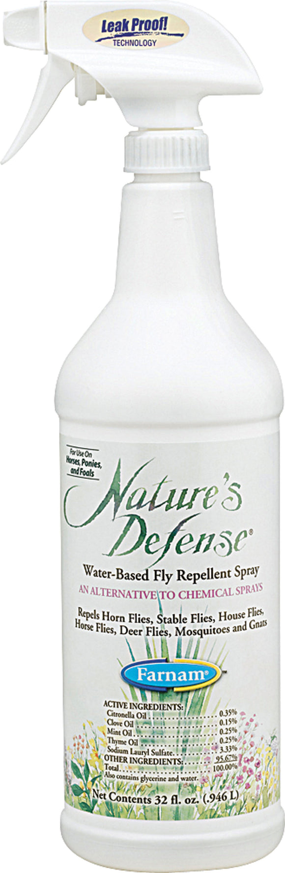 Farnam Companies Inc - Nature Defense Concentrate Fly Repellent Spray