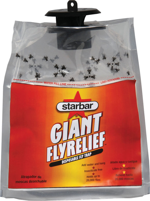 Starbar - Giant Fly Relief Disposable Fly Trap