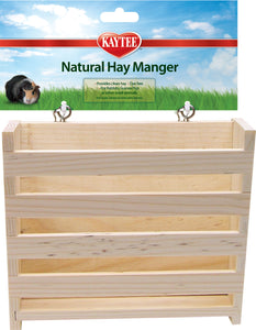 Super Pet - Natural Wooden Hay Manger