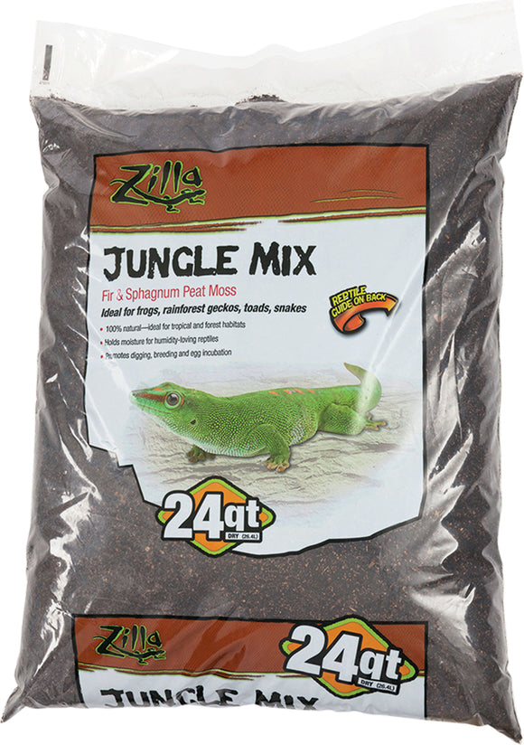 Zilla - Jungle Mix Reptile Bedding