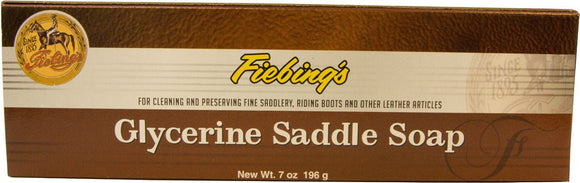 Fiebing Company Inc    D - Glycerine Saddle Soap Bar