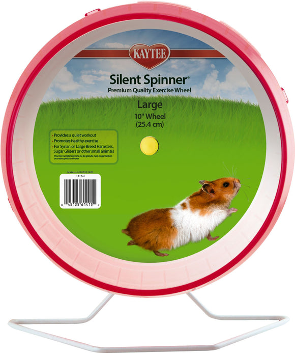 Super Pet- Container - Kaytee Silent Spinner Wheel