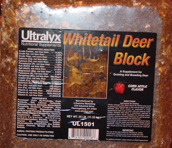 Ridley Inc. - Whitetail Deer Block