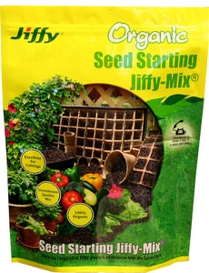 Jiffy/ferry Morse Seed Co - Jiffy Natural And Organic Seed Starting Jiffy-mix