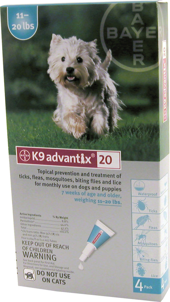F.c.e. Inc              D - Advantix Ii Dog Teal