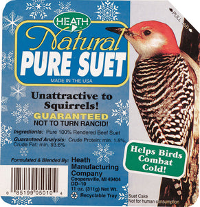 Heath Mfg Co            P - Natural Pure Suet Cake