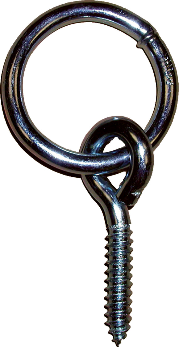 Horse And Livestock Prime - Hitching Ring With Screw Eye
