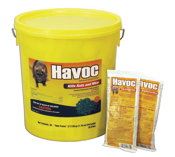 Neogen Rodenticide      D - Havoc Rodenticide Bait Packs