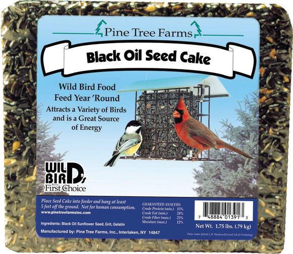 Pine Tree Farms Inc - Black Oil Sunflower Seed Cake